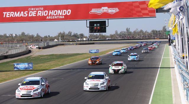 Circuito Termas De Rio Hondo : Recta principal argentina en la vidriera mundial con el wtcc