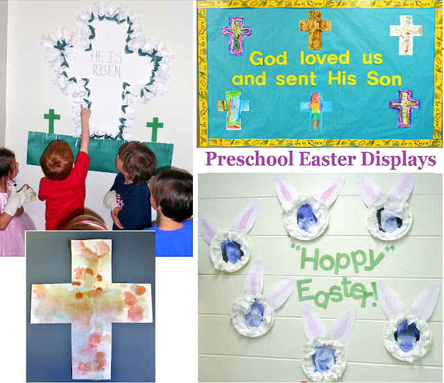 Easter Display Ideas: Princesses, Pies, & Preschool Pizzazz: Easter Displays For