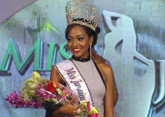 Miss Jamaica World 2014 winner Laurie Ann Chin