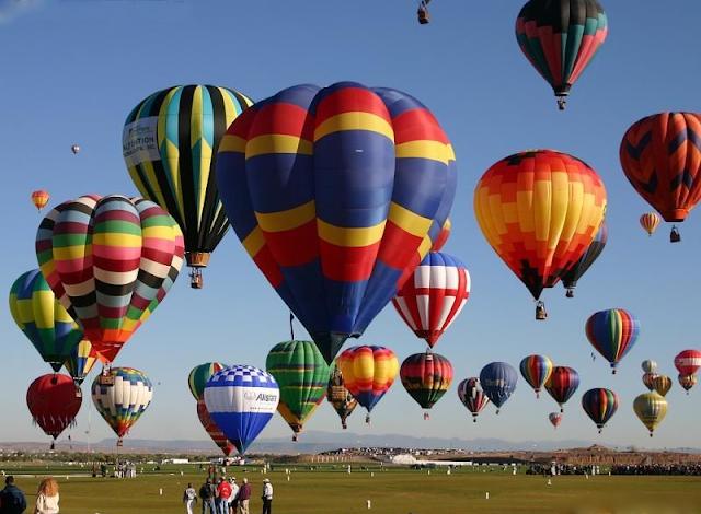 Hot Air Balloon Festival, Clark, Pampanga