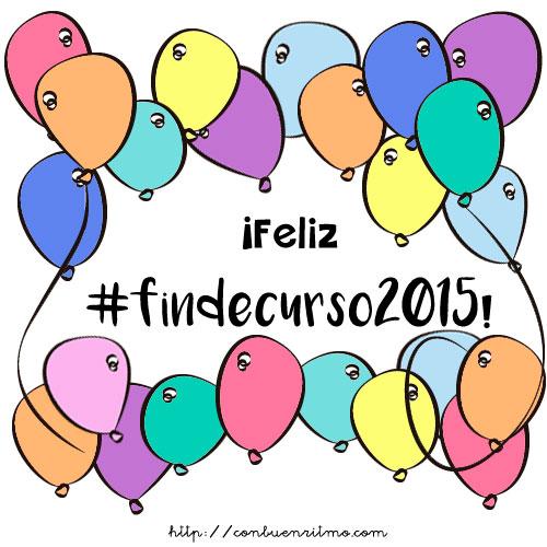 #findecurso2015