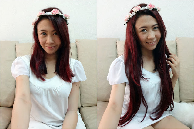 Hair irresistible me clip in hair extension review nicole yie trying on the clip in hair extensions pmusecretfo Image collections