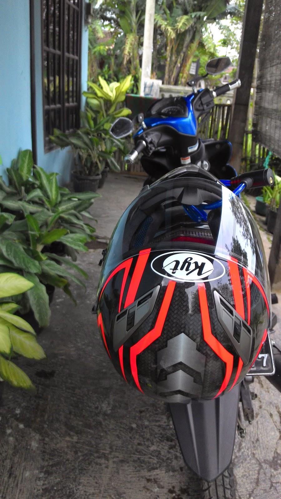 Cara Menjaga Helm Full Face Agar Tidak Hilang Saat Parkir