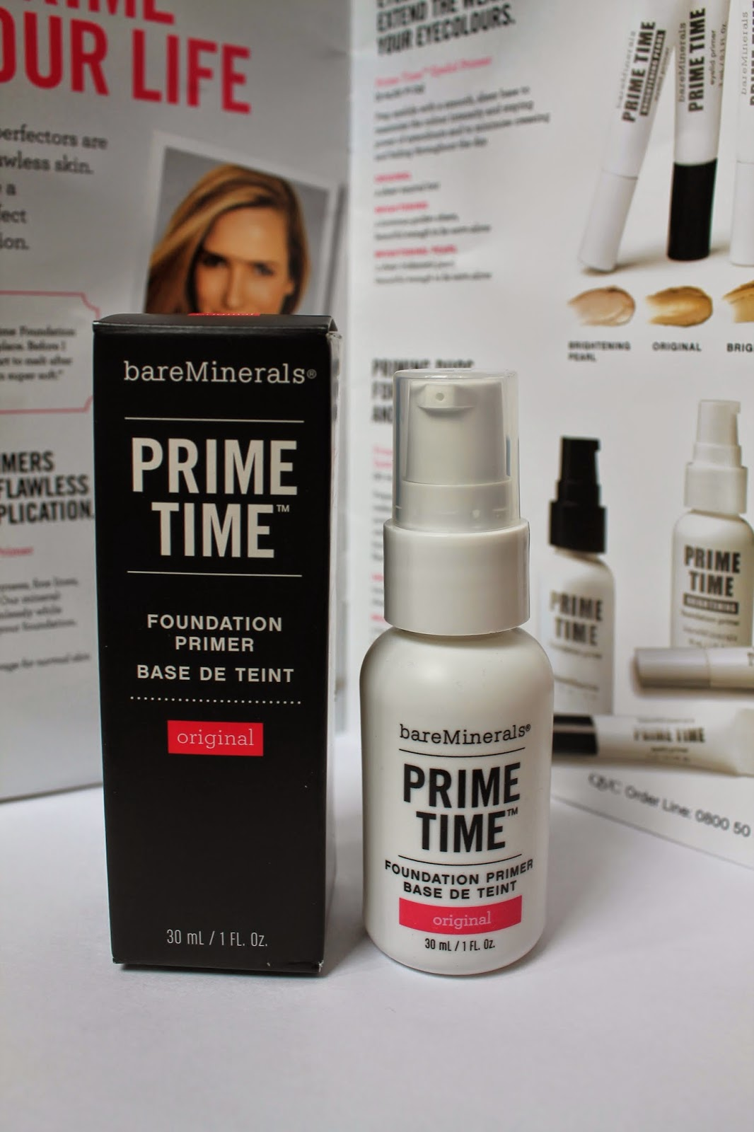 bareminerals Prime Time Primer review
