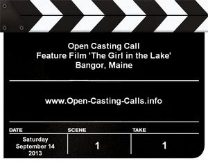 The Girl In The Lake Open Casting Call Maine