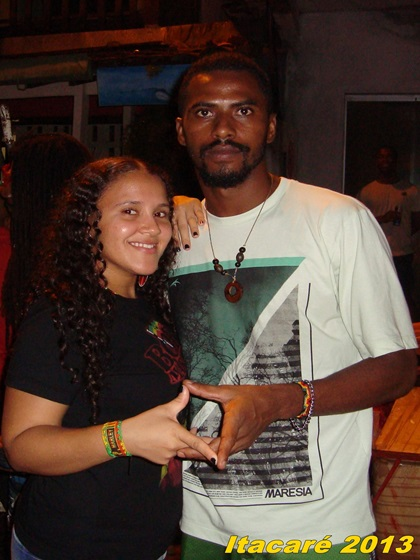 Casal Roots - Adele Sistah e Julio Rasta Roots