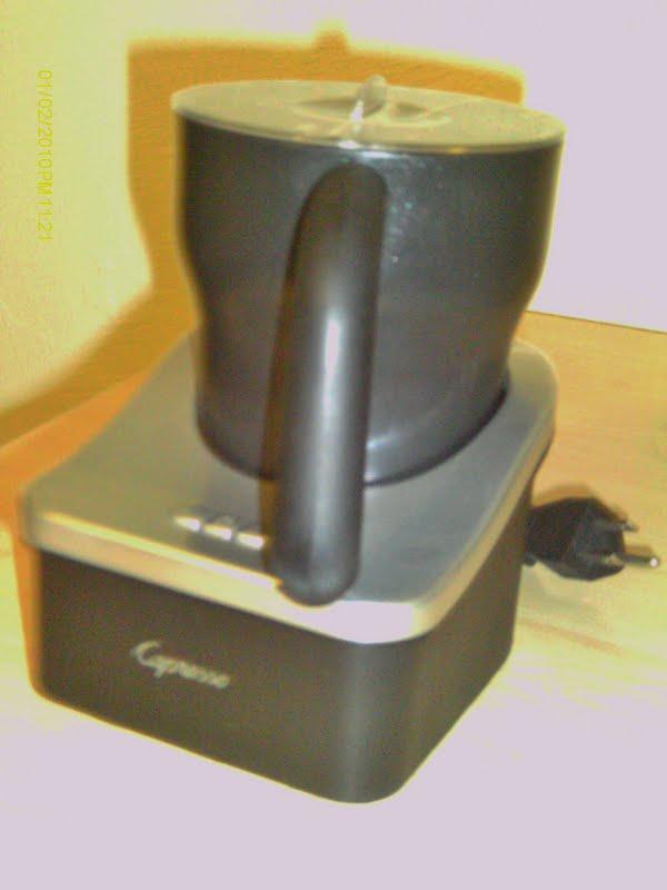 how to use a capresso machine