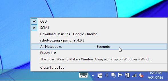 Cara Terbaik Untuk Membuat Always-on-Top Pada Jendela Windows