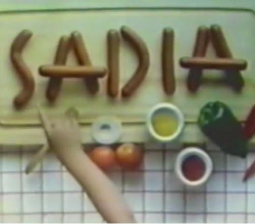 Campanha da Salsicha Sadia em 1991: diálogo de mãe e filho.