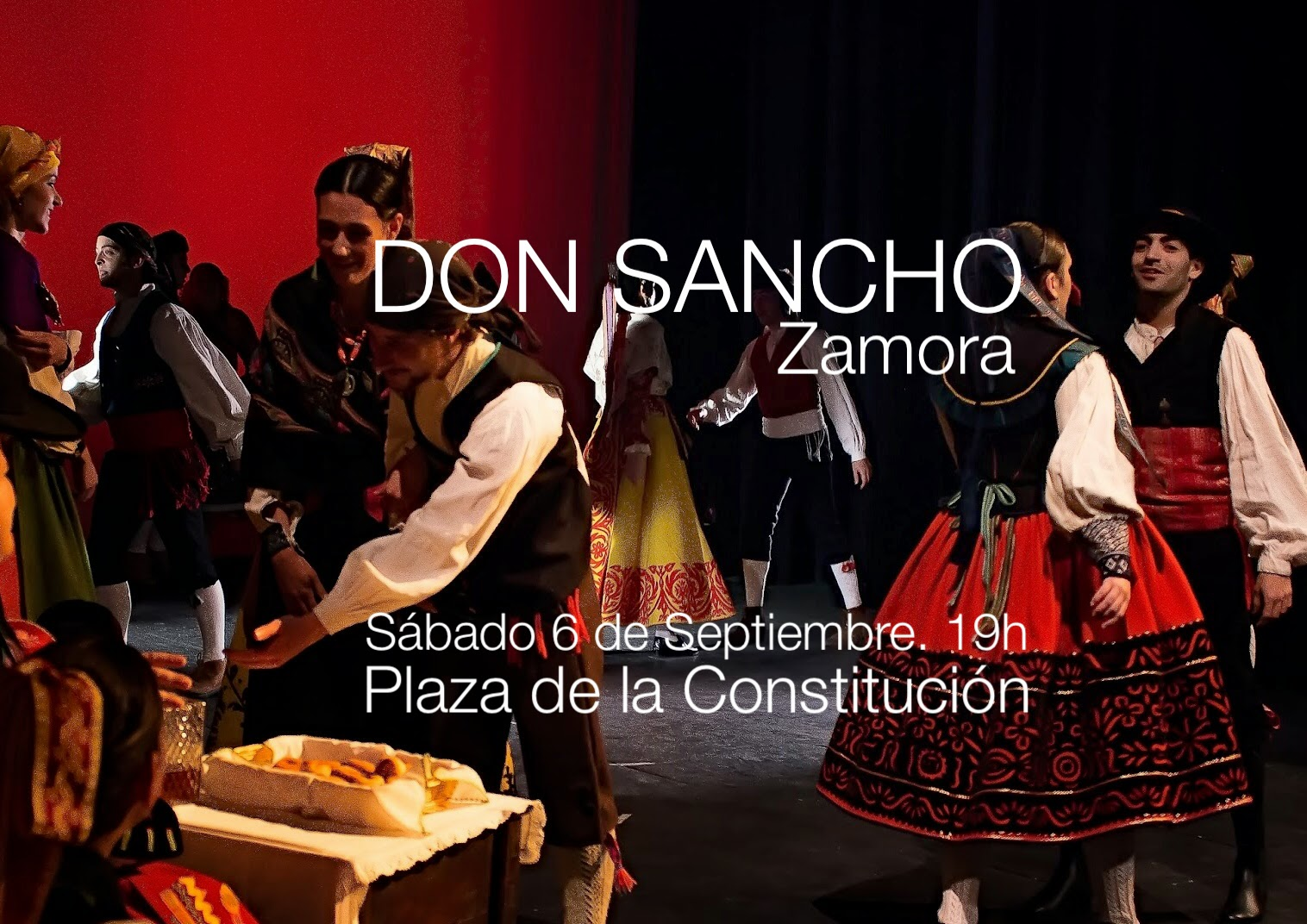 DON SANCHO. Difusión de la Cultura Tradicional de Zamora ... - photo#19