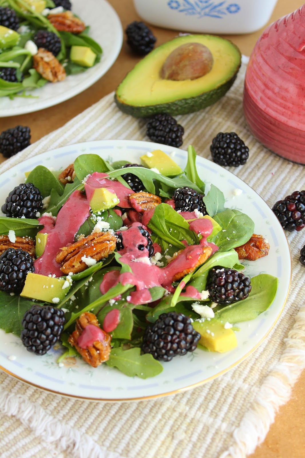Baking with Blondie : Baby Greens and Blackberry Salad ...