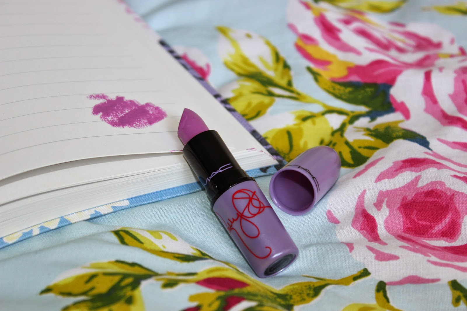 MAC Kelly Osbourne Dodgy Girl Lipstick Review Swatch L'amour Josie