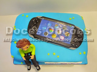bolo playstation bragança doces opções