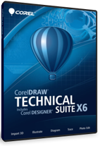 corel draw technical suite x6 2013