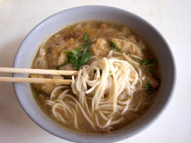 台南西港蓮華素食(菜粽) 大麵焿