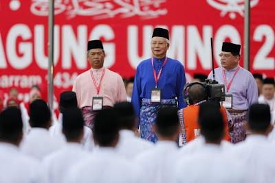 Presiden Umno, Datuk Seri Najib Tun Razak.