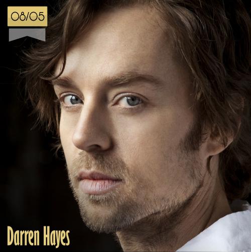 8 de mayo | Darren Hayes - @darrenhayes | Info + vídeos