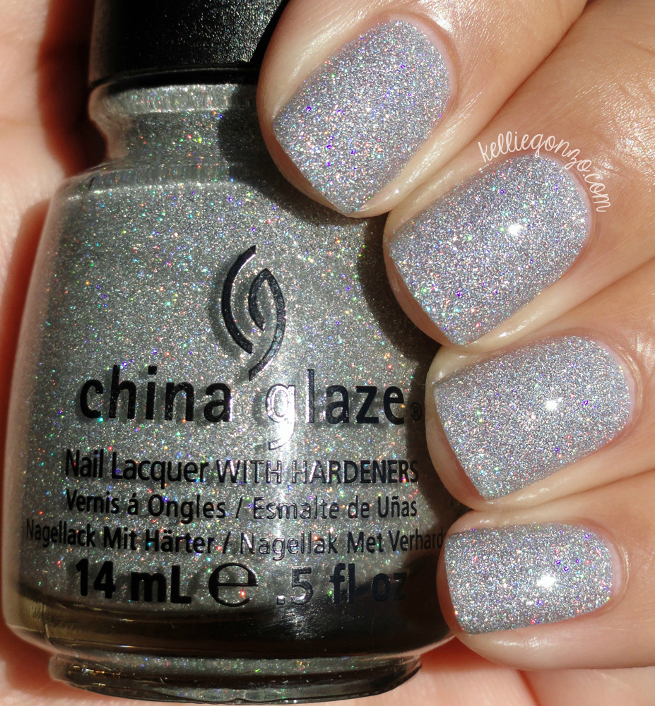kelliegonzo: china glaze angel wings and glistening snow swatches