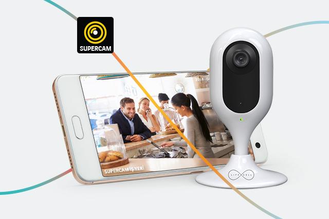 Lifecell'den Akıllı Kamera: SUPERCAM