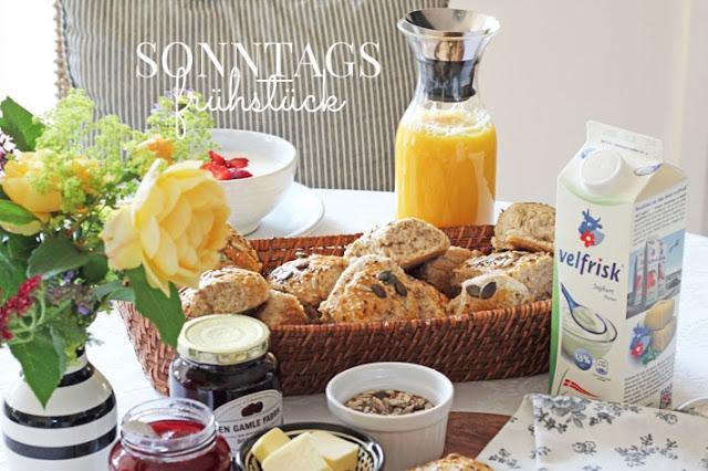 Amalie loves Denmark Frühstsücksbrötchen und dänische Marmelade