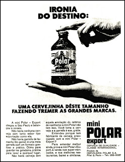 cerveja Polar, 1971; os anos 70; propaganda na década de 70; Brazil in the 70s, história anos 70; Oswaldo Hernandez;