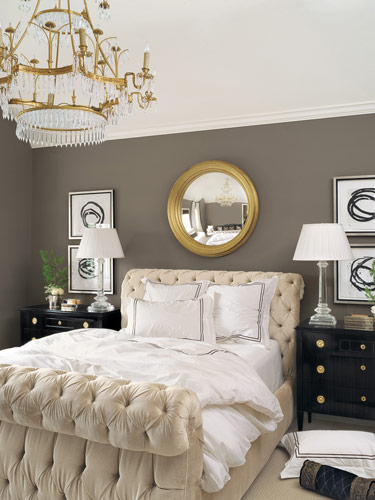 New england fine living beautiful master bedrooms with chandeliers in them Chandelier in master bedroom
