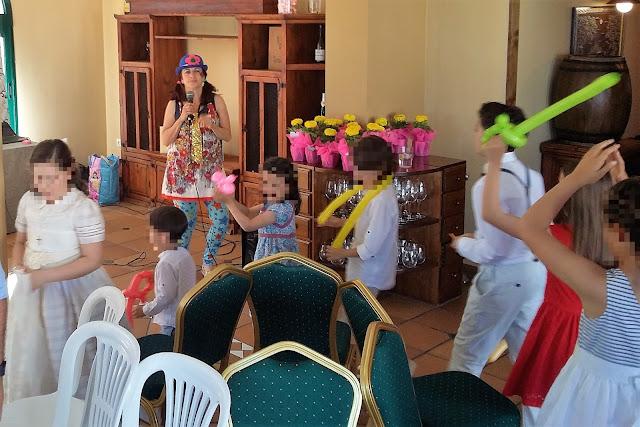Animación infantil en La Rinconada