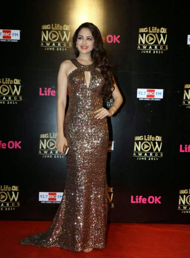 Zoya Afroz in Sequined Gown