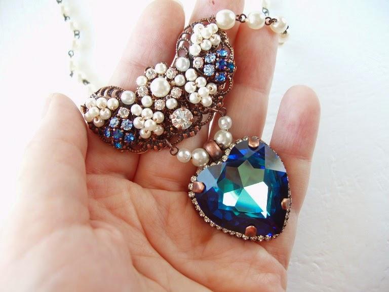 kristallidega ehted kaelakee mdmButiik Eesti