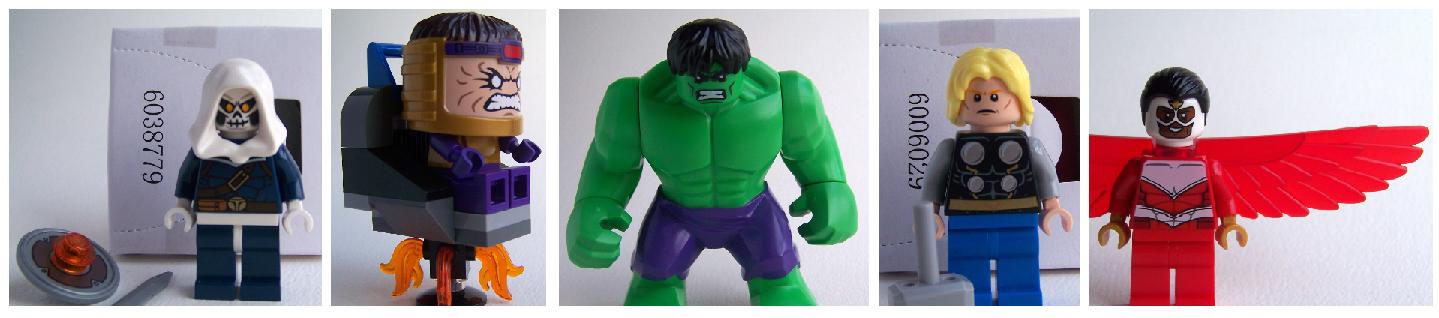 LEGO hulk smash minifigures