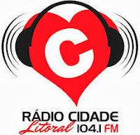 ouvir a Rádio Cidade FM 104,1 Itapema SC