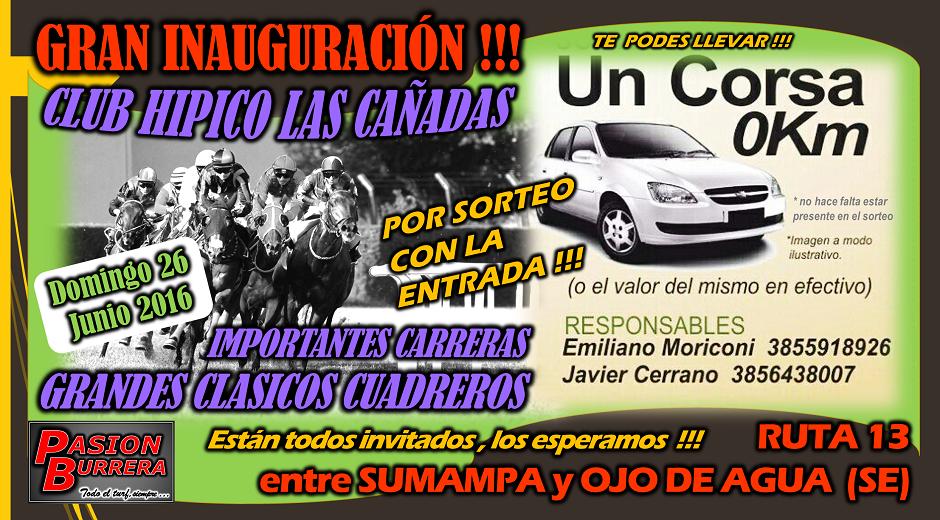 LAS CAÑADAS - 26 DE JUNIO