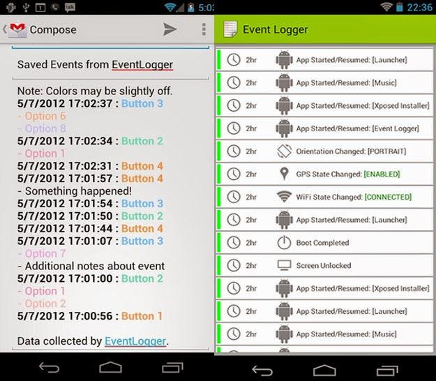 descargar event logger android