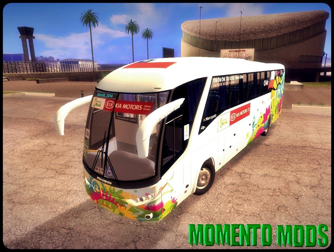 GTA SA - Marcopolo Paradiso 1200 Da Copa Do Brasil