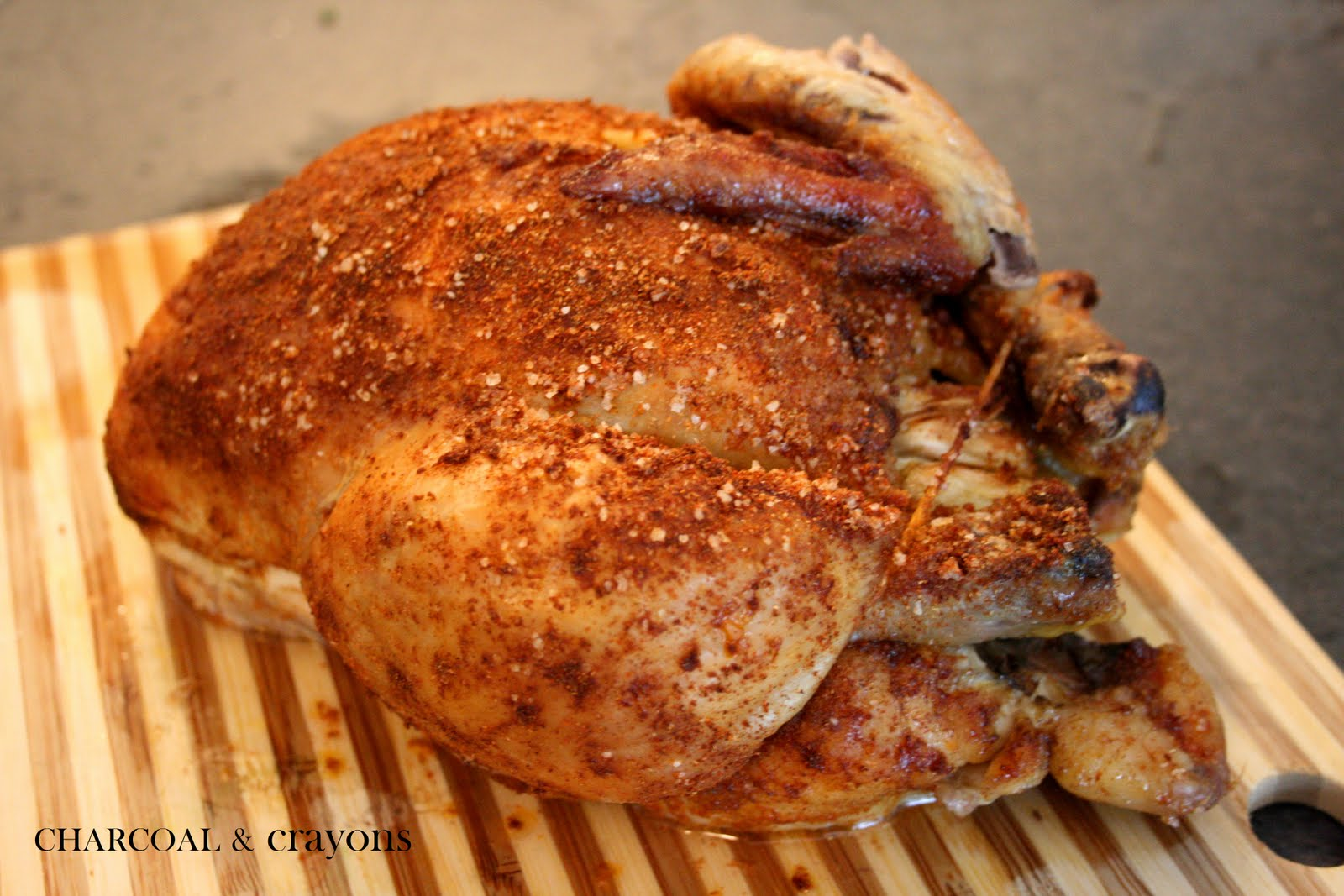 Charcoal and crayons the ultimate roast chicken for Roast chicken uk