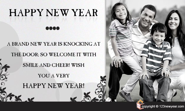 Happy New Year 2015 Wishes Greetings Card