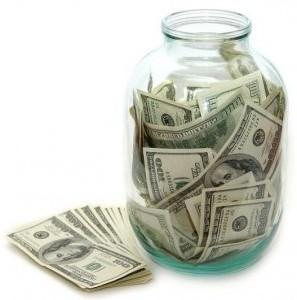 деньги в банке фото