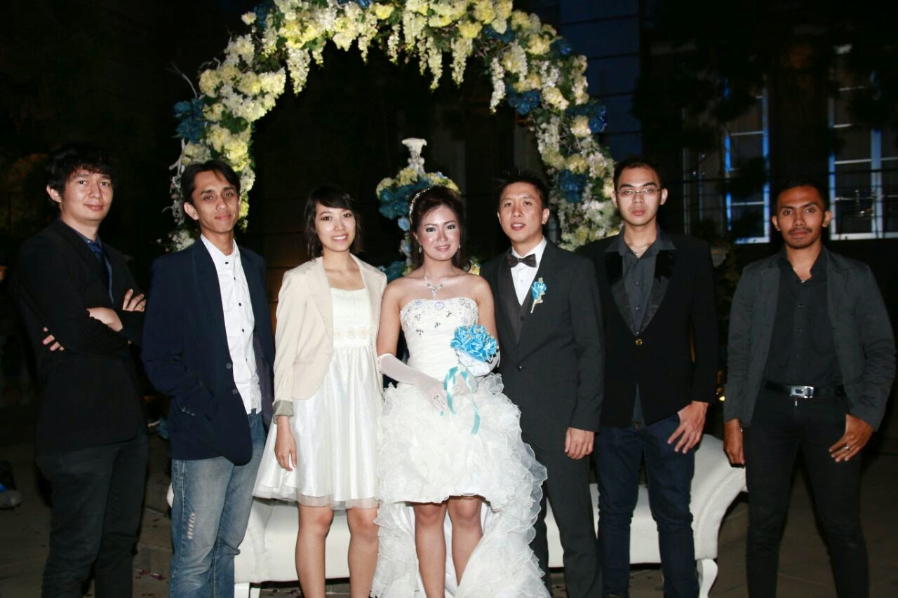 SYLVIA (Hendy, Ferry, Ippi, Cynthia, Rio, Henry, Luqman ) @ Cynthia and Rio Wedding