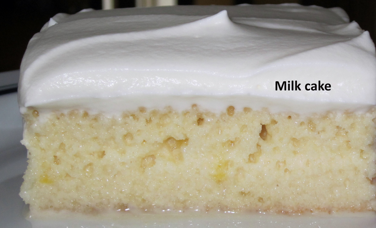 Recipe Condensed Milk Cake
