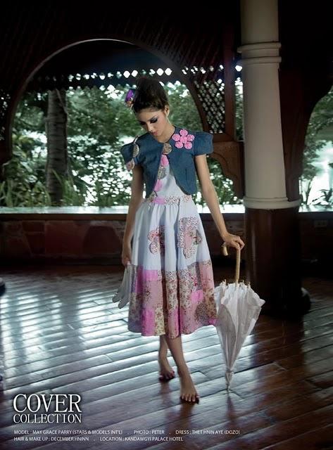 May Grace,myanmar model