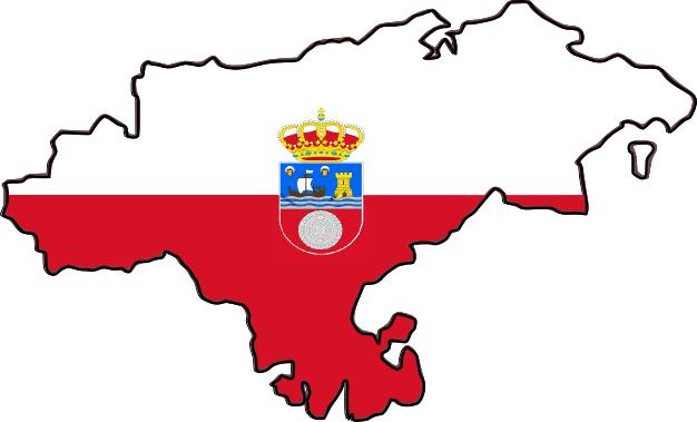 MAPA OFICIAL DE CANTABRIA