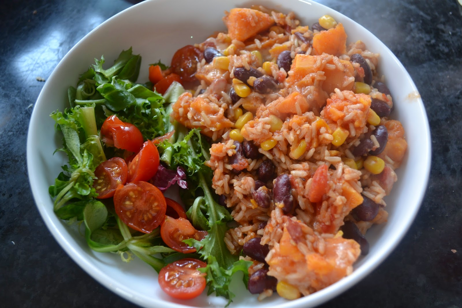sweet potato burrito bowl recipe