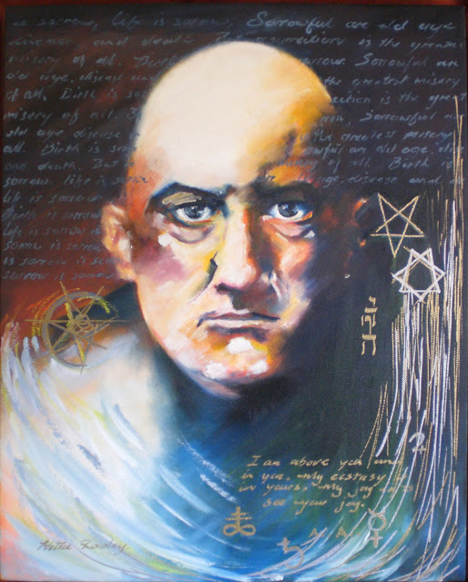 ALEISTER CROWLEY  HIS STORY  HIS ELITE TIES AND HIS LEGACYAleister Crowley Paintings