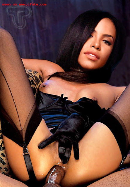 Aaliyah pelada