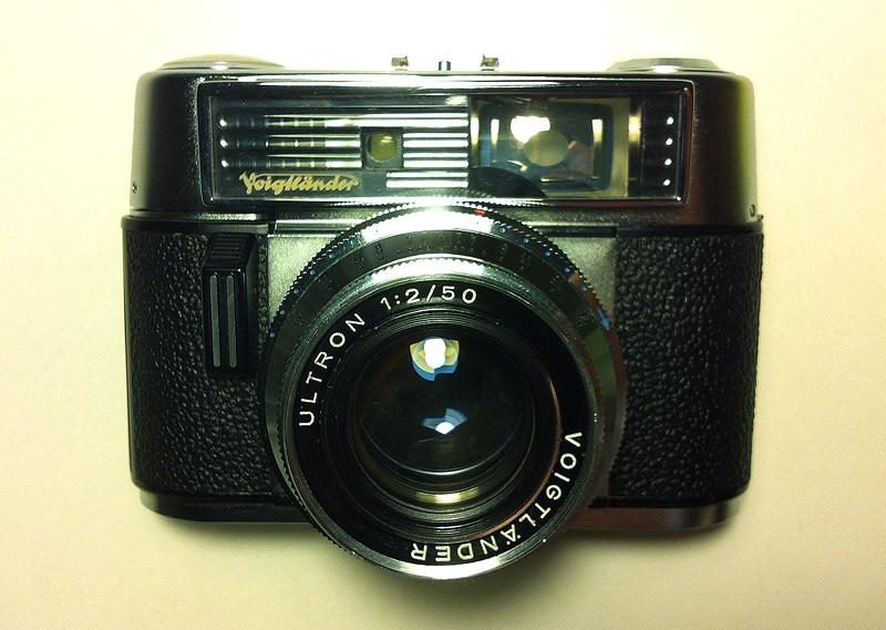 Alte kameras und mehr : voigtländer vitomatic iiib sucher