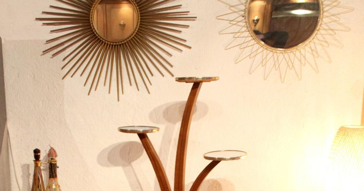 Chicbaazar objets vintage 50 60 70 fauteuil 1950 1960 - Miroir chaty vallauris prix ...