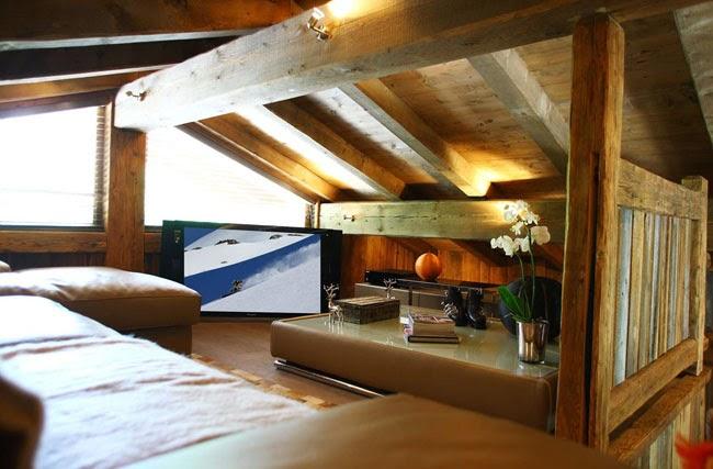 Estilo rustico casa chalet rustica en chamonix for Disenos de chalets rusticos
