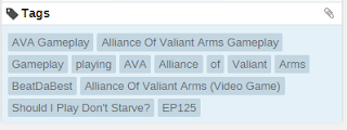 Directly Related Tags Example