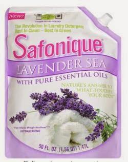 Safonique Natural Cleaning Lavender Detergent