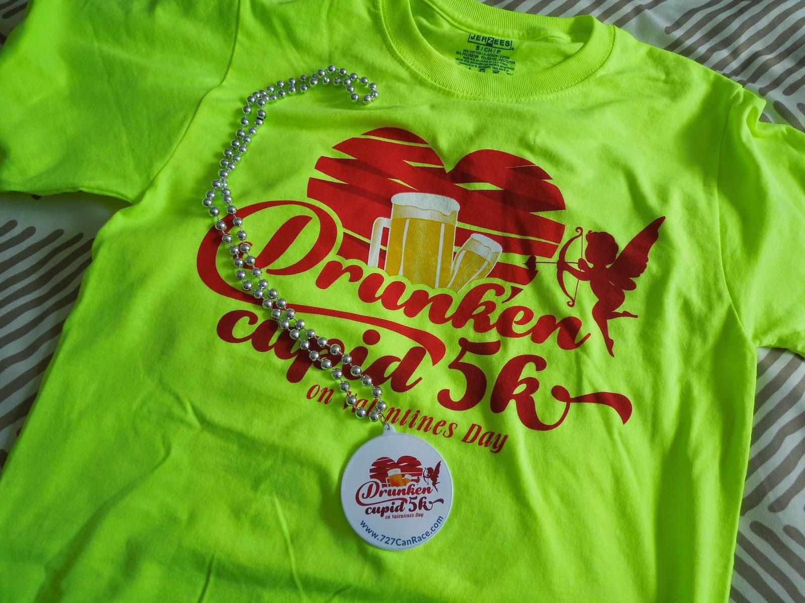 5K race t-shirt